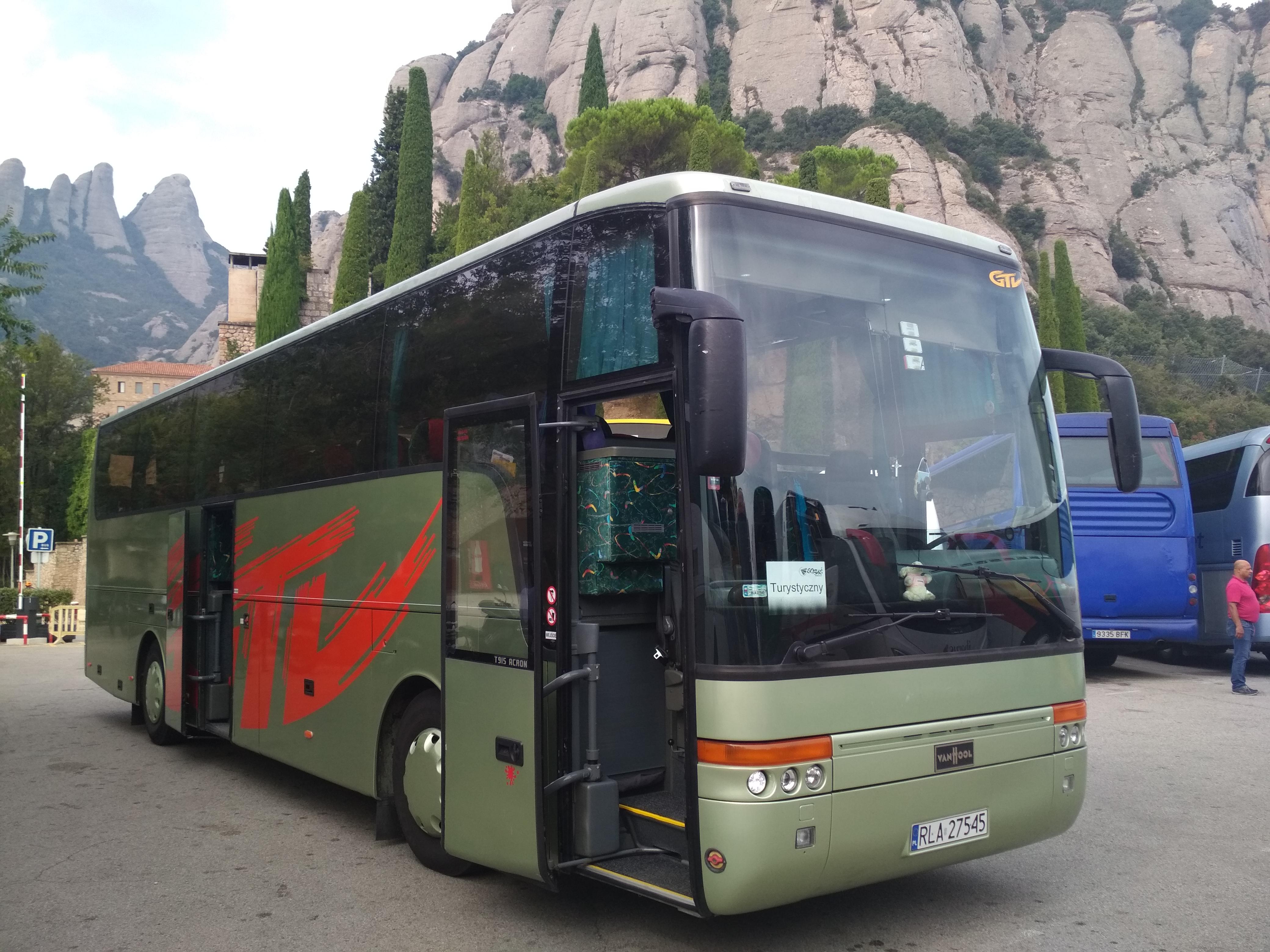 vanhool 915 w pojazdach